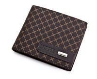 2014 New Fashion MENS Brand wallet men short design purse men's wallet man purse male black Wallet free shipping