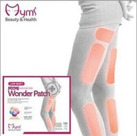 L401W 3pcs/box (18 stickers) Mymi Wonder Patch for Leg  Arm Fat Burn Lose Weight Fat Reduction Slimming Paste Patch Body Shaping