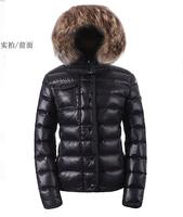 DHL free shipping goose fur coat monclear women duck down jacket carhartt jaqueta feminina snowimage parkas for women winter