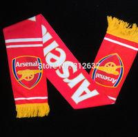 Wholesale 20 teams can choose 17*145 CM uefa champions league cheerleading football scarf souvenir