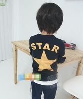 Free Shipping Good Quality 1PC/Lot Spring & Autumn Children Boys Long Sleeved T- Shirt Boy Kids Clothes wholesale Kid tops tees
