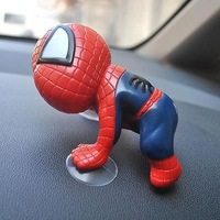 1PCS Sticker Auto part Spider-man Doll Lovely Car Accessories