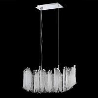 New Modern Chandelier Length 60 80 & 100cm Suspension Crystal Beads Tassel light