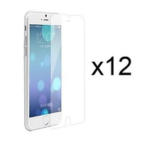 12 x Clear Screen Protector with Cleaning Cloth for iPhone 6'4.7 Free Shipping