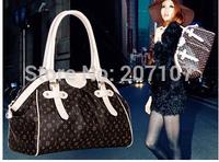 Free shipping! High quality Top Brand women's fashion leather handbag ladies louis.bag L025