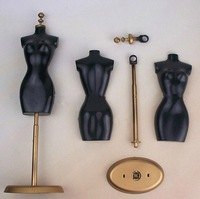 Free shipping, New Arrival 10pcs/lot  Dress/Clothes Display Clothes Stand For Barbie Dolls