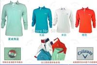Free shipping 2014 Golf Long Sleeves T-shirt