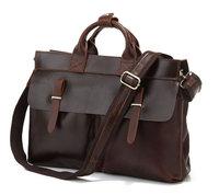 Factory Directly JMD Genuine Leather Bag Men Messenger Bag Laptop Bag Briefcase Handbags Designers Brand Items #7107R
