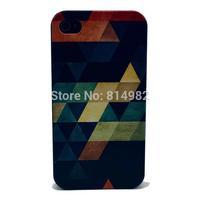 Free shipping 5pcs/lot diamond case For iPhone 4s 4 5 s 5 5c hard plastic case