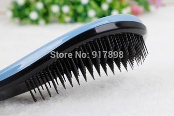 Free shipping Magic Detangling Handle Tangle Shower Hair Brush Comb Salon Styling Tamer Tool