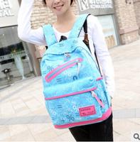 Promotion Printed Women Backpack female  Canvas Material Students School Bag shoulder rucksack Children Hiking Backapcks bolsas