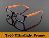 2014  New fashion tr90 ultralight memory eyeglasses optical frames Myopia  eyewear men women oculos de sol Y3009