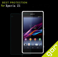 2.5D 0.3MM Explosion-proof Anti-scratch Tempered Glass Film Screen Protector For SONY Xperia Z1 With Retail Packaging