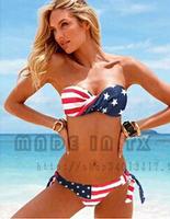 maillot de bain Sexy American Flag Bikini