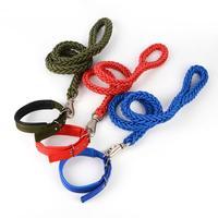 Dog rope leash dog  chain in the large dog small dog chain collar shipping Golden Satsuma