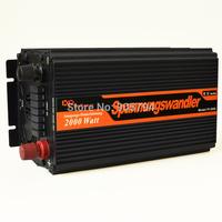 Digitalanzeige 2000W 4000W Spannungswandler DC 12V auf AC 220v 230V Wechselrichter solar power inverter modified sine wave