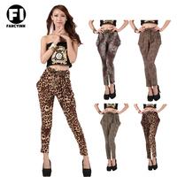 Fancyinn Brand New Arrival Super Elastic Women's Leopard Print Leggings Skinny Casual Girl's Slim Sexy Pant