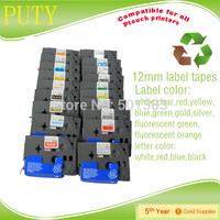 25pcs packing a lot 24mm Tz251 Black On white compatible Tz tape cassette