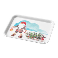 1 piece 11x8 inch laminated paper board tray