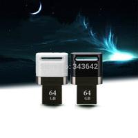 New arrive mini Alumium USB flash drive OTG smart phone 64GB pendrive computer 64GB USB2.0 Memory stick u disk thumb sticks