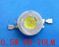 Best Price 0.5Watt High Power LED 60-70lm 1000pcs/lot