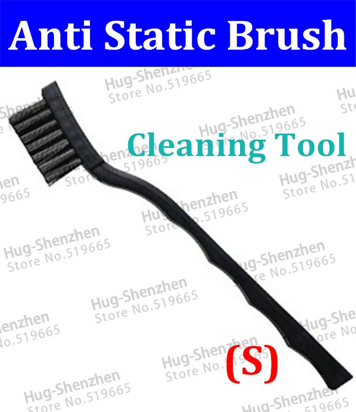 "Free Shipping 100pcs/lot High Quality Small Size Anti Static Plastic PCB Cleaning Brush 17.0cm 6.7""(China (Mainland))"
