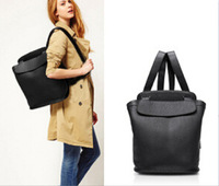 2014 new winter explosion models Hot Ladies leather backpack. European and American style retro casual bucket bag backpack