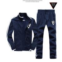 Plus Size M-3XL 2014 Top Brand Men Hoodies Autumn  Warm Hooded cotton cardiga Hot Sales Men's Leisure Suit