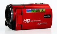 New HDV 16MP 1280X720P Digital Video Camera 3.0 inch LCD screen 5.0 MP CMOS 16X Digital Zoom HD Dual SIM touch screen Camcorder