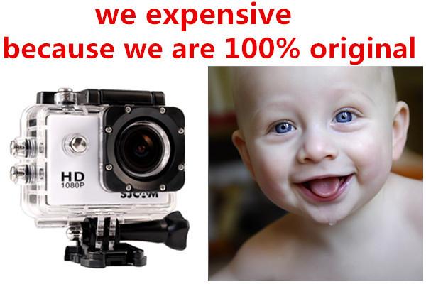Free Shipping Full HD DVR Sport DV SJ4000 1080P Helmet Waterproof Camera 1.5inch Motor Mini DV 170 Wide Angle Can Choose WIFI(China (Mainland))