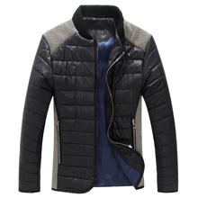 NEW 2014 fashion men's clothes winter cotton down jacket coat thick warm coats & jackets winter coat for men plus size 5xl