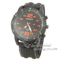 Free Shipping Brand SANEESI R2010 Casual Watch Men Quartz Male Clock PU Leather Strap Wristwatches Wholesale