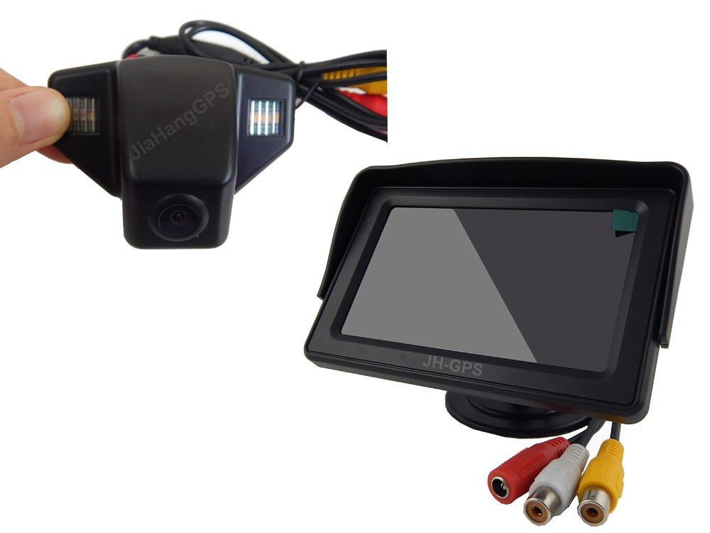 Auto Car Reverse Camera Kit for Honda CRV CR-V Fit Jazz Accord Rearview Cam Monitor Screen System(China (Mainland))