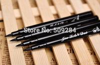 Waterproof Makeup Gel Liquid Eyeliner Pen Beauty Cosmetic Eye Liner Pencil Black Free Shipping