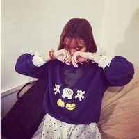 Free shipping,Chic Harajuku Cute The Character Mouse Baggy Hoodie / ladies fashion Winter/Autumn Hoodies