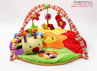 baby toy gym mat for play blanket rug soft touch worm toy arc