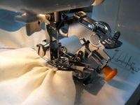 2PCS Sewing Machine Parts ruffler foot for singer brother white pfaff janome viking