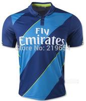 2015 SoccerJersey champions league ALEXIS OZIL WILSHERE RAMSEY   CAZORLA  WALCOTT  thailand quality  soccer jersey free shipping