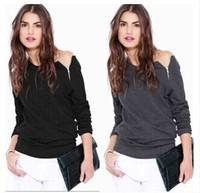 Free Shipping!2014New Fashion Womens Long Sleeve Hoody Hoodies Female Zip Pullovers Sweatshirts Outwear Sport Coat S M L