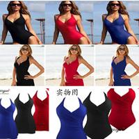 New 2014 Sexy Women  bikini with skirt ladies swimwear XXL