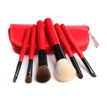 6 шт. кисти+для+макияжа комплект пудра тени для век кисти чехол подводка для глаз ...