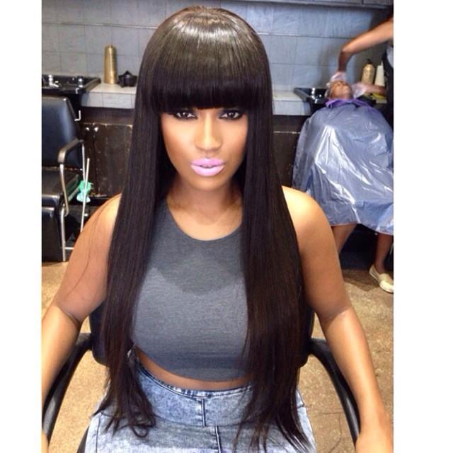 Cheap African American Human Hair Wigs 104