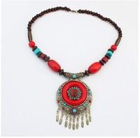 world fashion ethnic characteristics personality necklace+ Free shipping#110263
