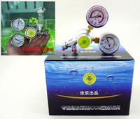 Aquarium tank planted Dual Gauge co2 system Pressure Regulator co2 gas Cylinders Pressure Regulator