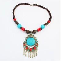 European model fashion ethnic individuality  necklace+ Free shipping#110261