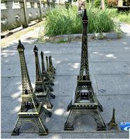 zakka style  Retro Paris Eiffel Tower ornaments home decor iron carft  180*180*480mm free shipping