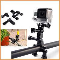 Bike Holder for Gopro Mount Accessories for Go Pro Adapter Set Handlebar For Gopro SJ4000 Camera Hero 3 Hero 3+ 2