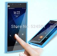 Wholesale 2014 Newest Design BIG View Window Fashion TPU Waterproof Flip Cover Case for Xiaomi mi3 Case xiaomi m3