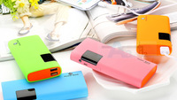 Free shipping 5pcs/lot new fashion 50000Mah Portable Power Bank charge for mobile phone External Backup Battery Charger