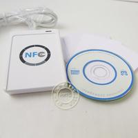 50pcs/lot new 13.56MHZ 13.56 MHZ SDK ACR122U-A9 NFC ACR122U RFID Contactless smart Reader USB Writer
